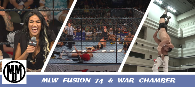 MLW Fusion 74 and War Chamber Header