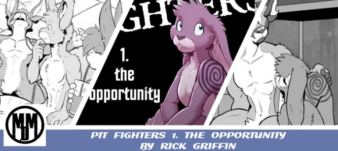 Pit Fighters 1 Rick Griffin The Opportunity furry furries LGBTQ header