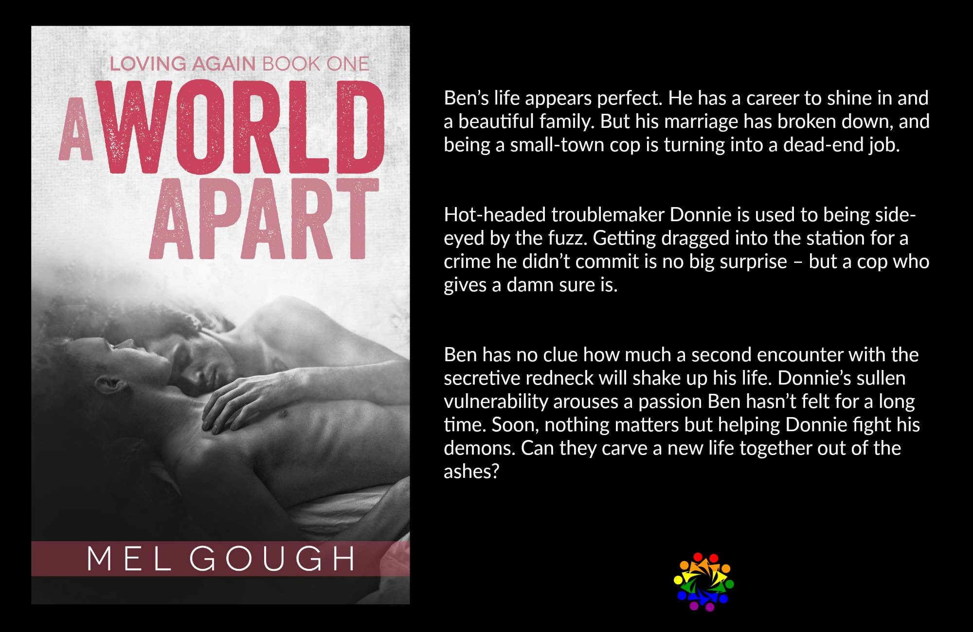A World Apart Mel Gough Loving Again MM Romance Contemporary