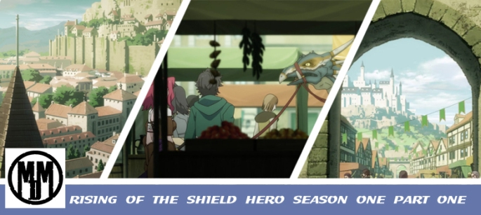 rising of the shield hero season one aprt one manga entertainment anime review header