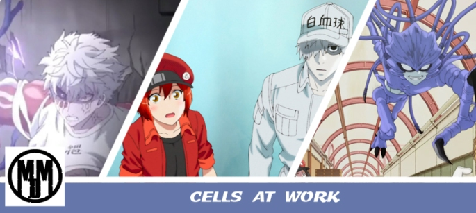cells at work anime series review MVM entertainment edutainment biology comedy HEADER