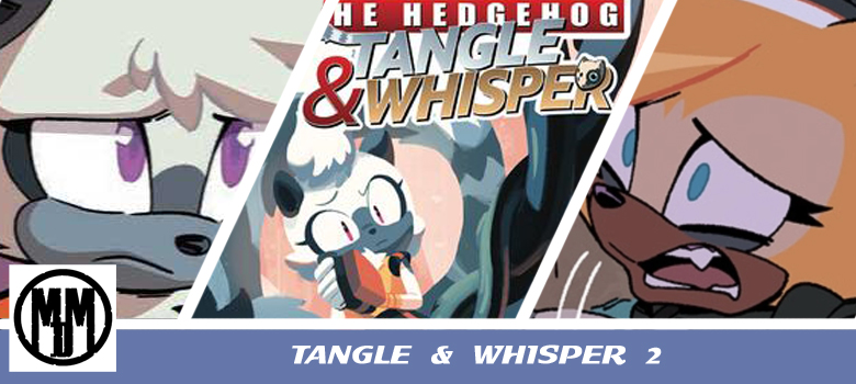 Tangle and Whisper Issue 2 IDW Comics Header