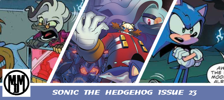 Sonic The hedgehog Issue 23 IDW Header