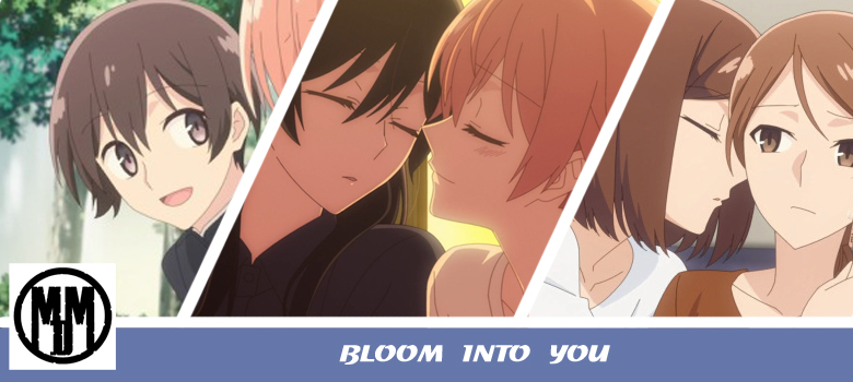 Bloom Into You Bluray DVD MVM Entertainment Yuri Lesbian anime review header