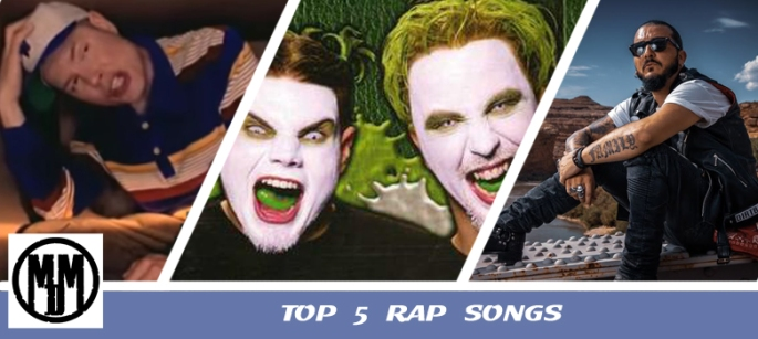 top 5 rap songs list mc 900 ft jesus if i only had a brain twiztid hom sha bom crucifix my way insane clown posse icp lets go all the way miyavi sonita long nights header