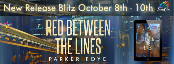 Red Between the Lines Parker Foye Indigo Marketing Sci-Fi MM RomanceRed Between the Lines Parker Foye Indigo Marketing Sci-Fi MM Romance