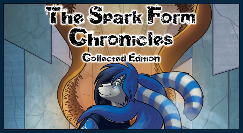 The Spark Form Chronicles GameLit Sci-Fi Banner Furry