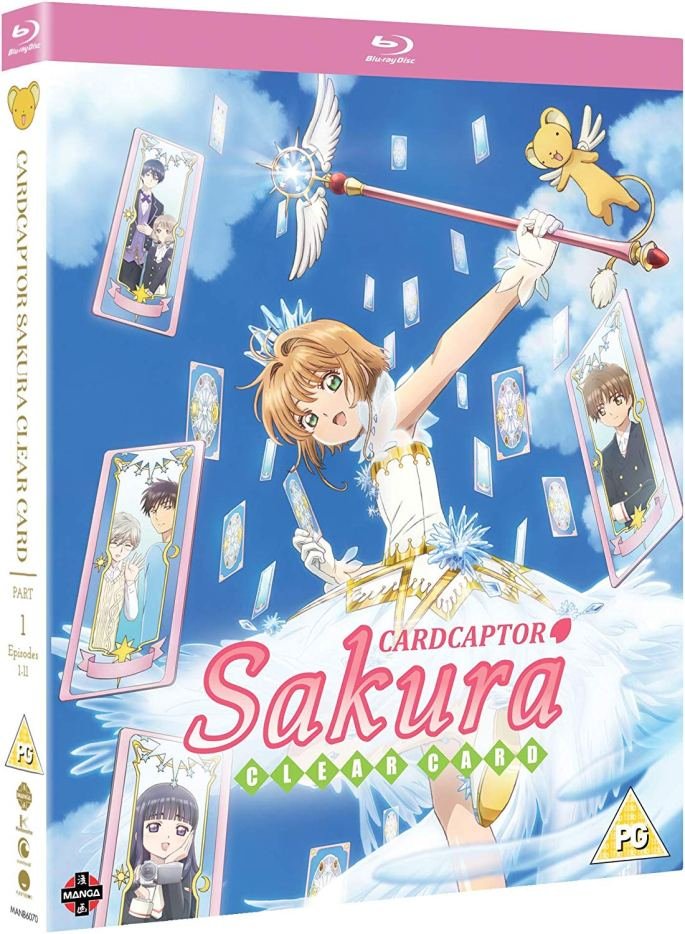 cardcaptor sakura clear card part one manga entertainment magical girl family