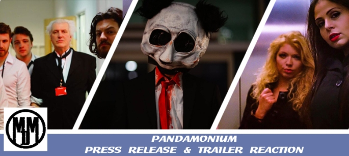 PandaMonium Slasher Film Press Release Trailer Reaction Header