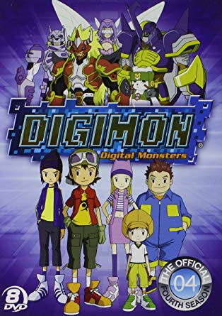 Digimon Frontier DVD Cover