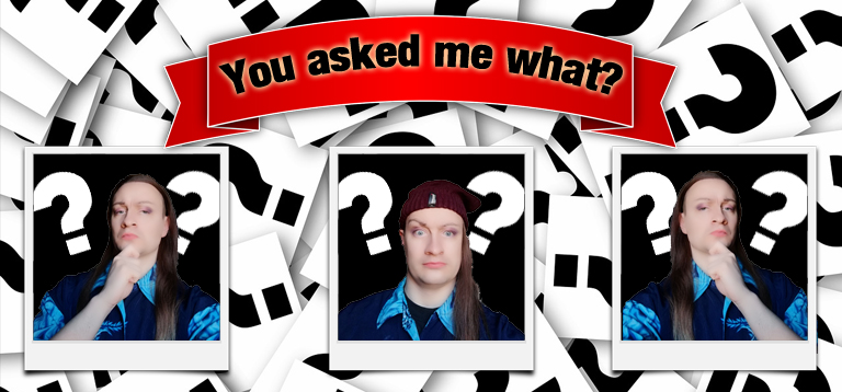 Question Header Banner Q&A Questions You Asked Me What