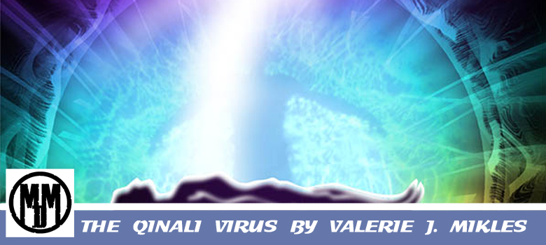 the qinali virus by valerie j mikles book spotlight queer sci-fi header