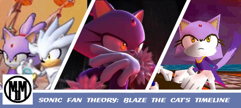Sonic the Hedgehog Fan Theory Blaze The Cat's Timeline and Dr Eggman NEGA header