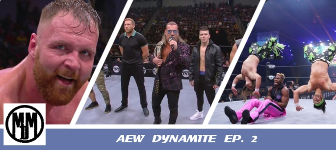 AEW Dynamite episode 2 review header