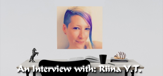 Riina YT LGBTQ author interview