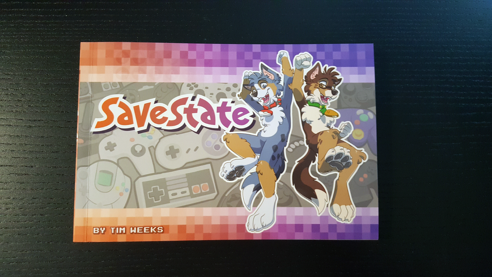 Savestate Volume 1 by Time Weeks Furry Geek Gaming Comic