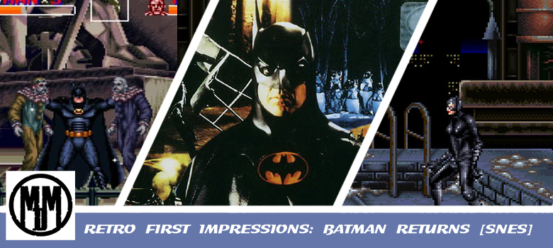 Batman Returns SNES Nintendo Konami Beat Em Up Scrolling Retro Gaming First Impressions