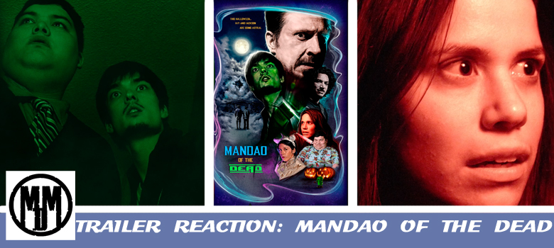 Mandao of the Dead horror sci-fi comedy trailer reaction and press release amazon prime