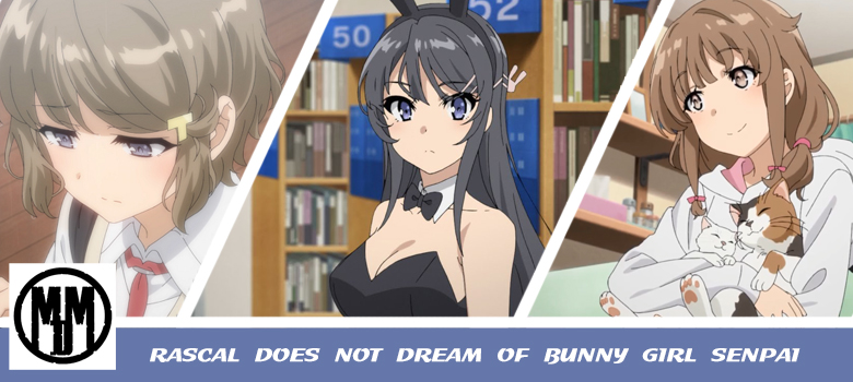 rascal does not dream of bunny girl senpai mvm entertainment anime review header