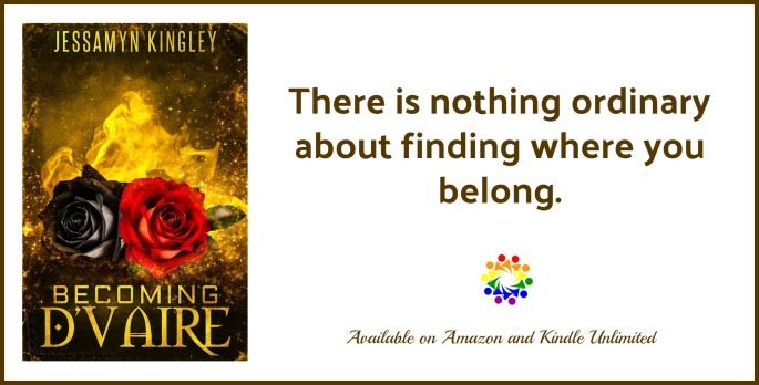 Becoming D'Vaire Jessamyn Kingley MM Urban Fantasy