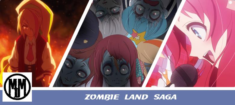 Zombie Land Saga anime review header
