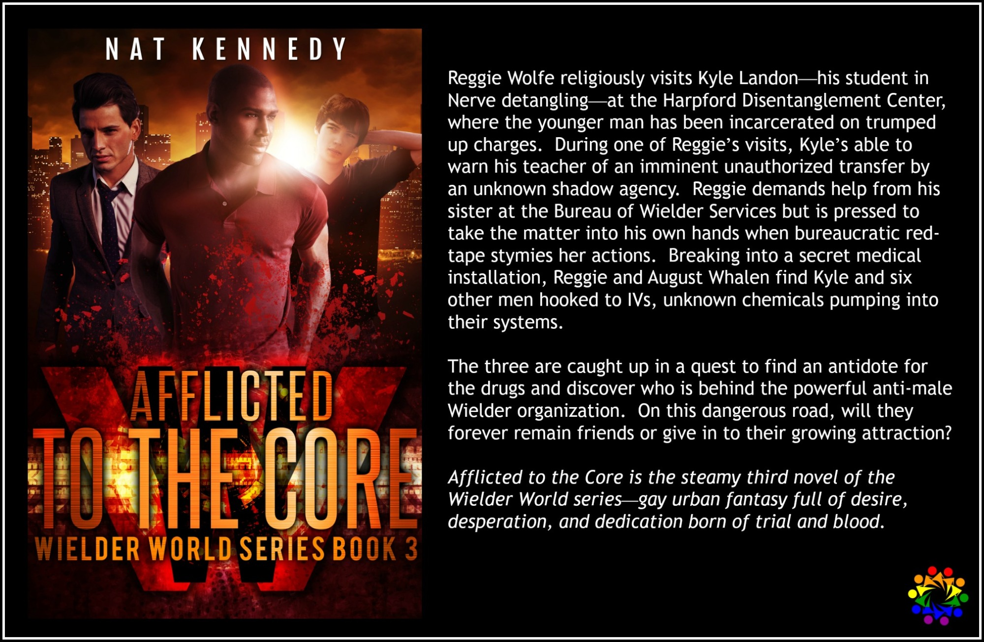 AFFLICTED TO THE CORE wielder world series nat kennedy MM urban fantasy