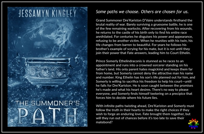 The Summoner's Path Jessamyn Kingley MM Romance Urban Fantasy