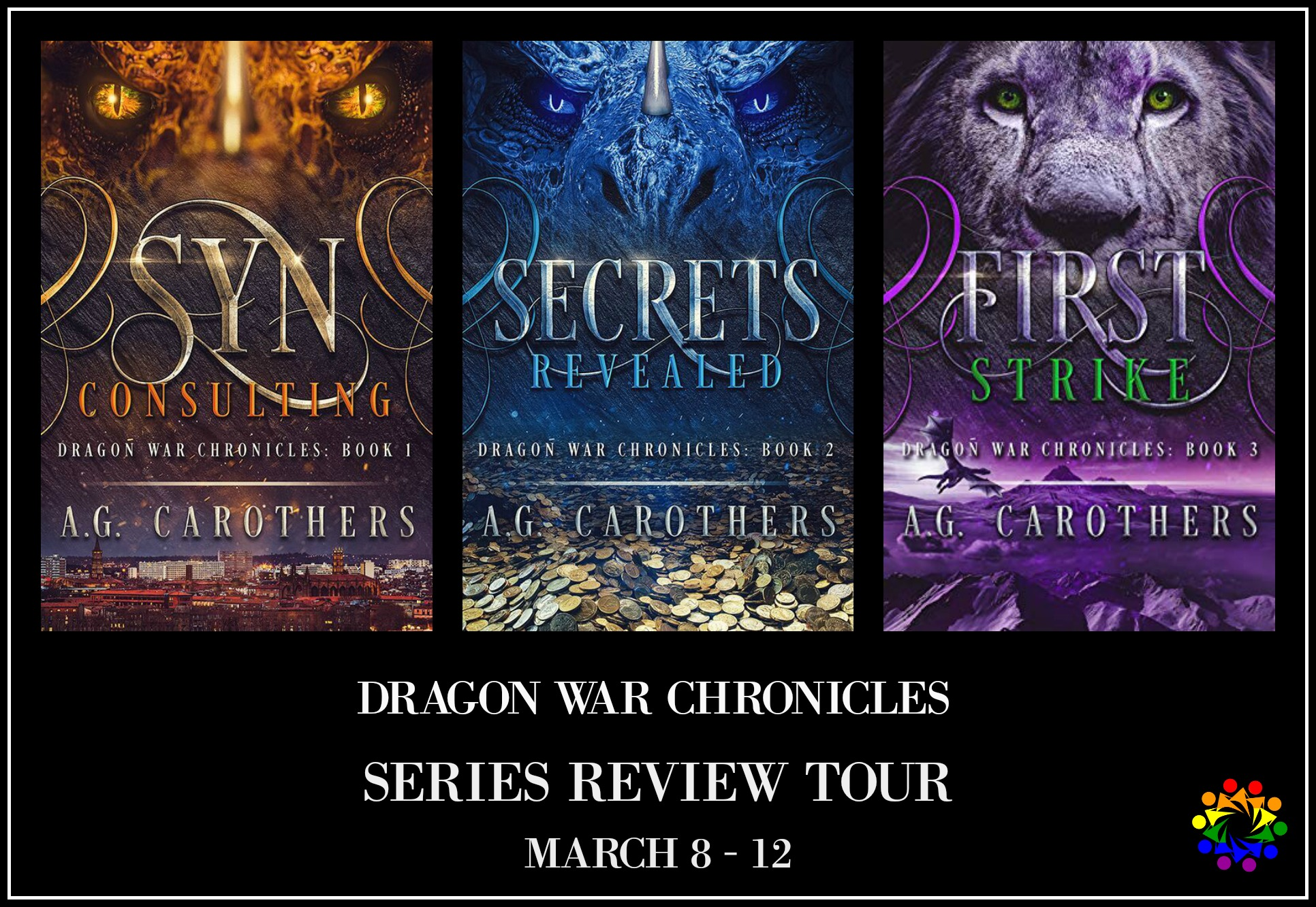 Dragon War Chronicles Consulting Revealed Strike AG Carothers LGBTQ Fantasy