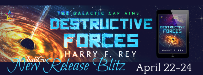 Distructive Forces Harry F Rey LGBTQ Sci-Fi