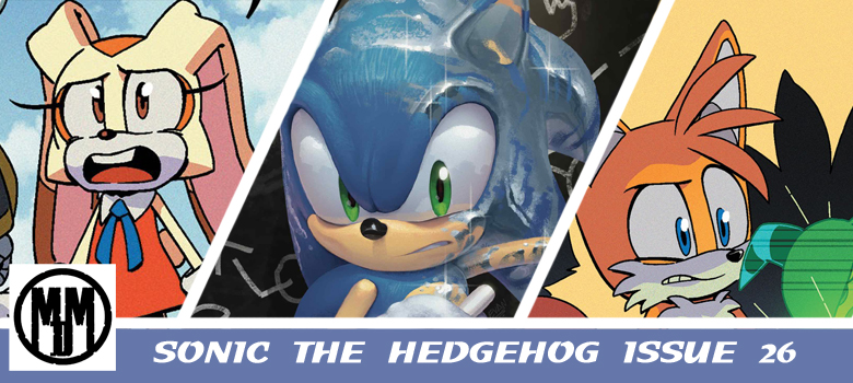 IDW Sonic The hedgehog Issue 26 comic review header