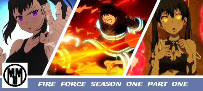 fire force season one part one manga entertainment anime review header