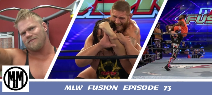 MLW Fusion 73 Header