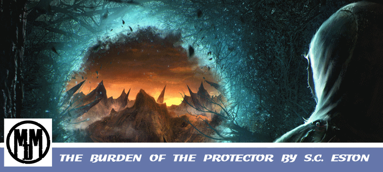 The Burdon Of The Protector SC Eston Fantasy Dystopian Header