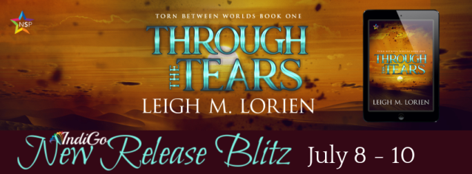 Through the Tears Banner Leigh M Lorien MM Romance Trans Fantasy