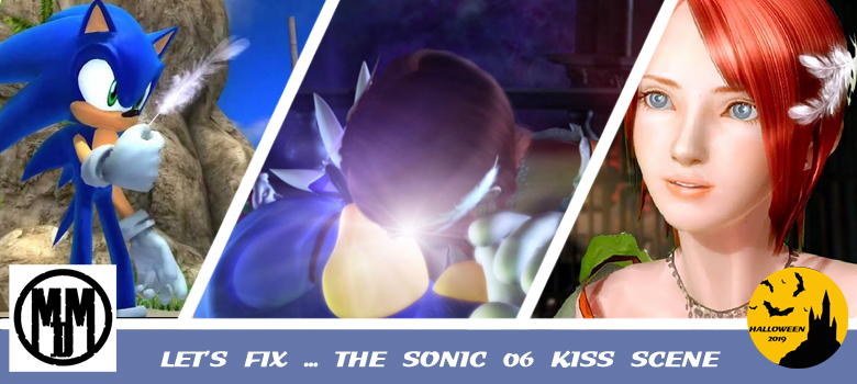 Lets Fix The Sonic The Hedgehog Princess Elise 06 Kiss Scene Halloween 2019 Header