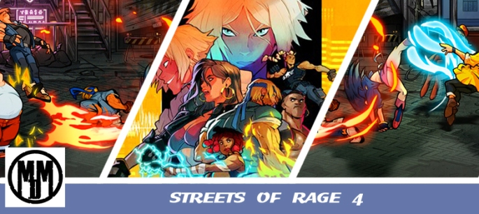 STREETS OF RAGE 4 GAME REVIEW HEADER