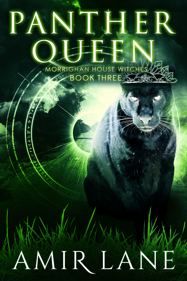 Panther Queen Morrighan House Witches Amir Lane Shifter Paranormal Queer Transgender FF Romance