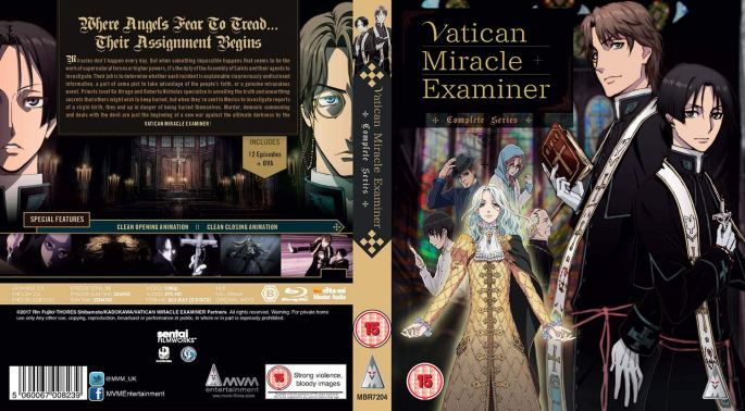 Vatican Miracle Examiner MVM Entertainment Mystery