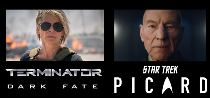 Terminator Dark Fate vs Star Trek Picard Trailer Battle