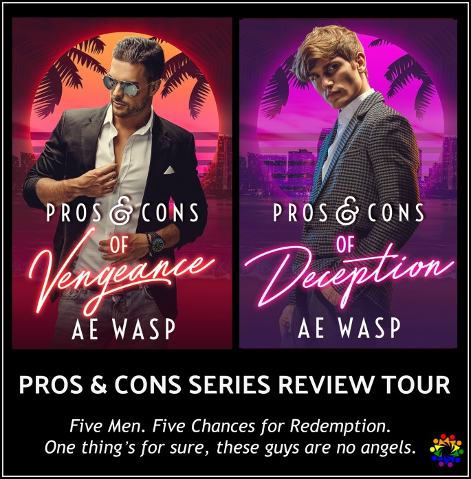 Pros And Cons AE Wasp Gay book Promotions MM Romantic Suspense Series