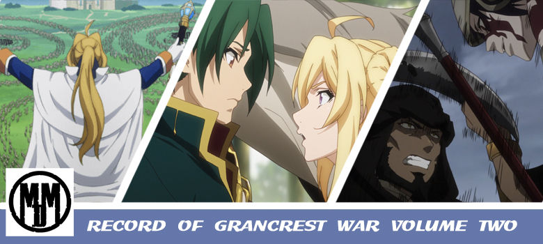 Record of Grancrest War Volume Two MVM Entertianment Header