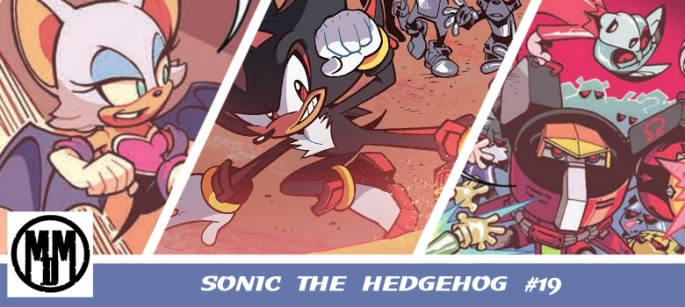 IDW Sonic the Hedgehog 19 Header