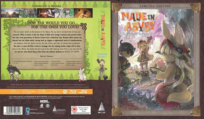 Made In Abyss MVM Entertainment Instant Classic