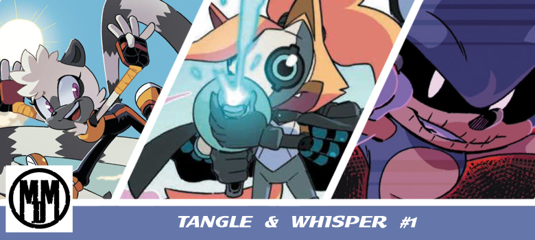 Tangle and Whisper 1 IDW publishing Header