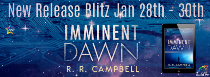 Imminent Dawn EMPATHY rr campbell sci-fi techno thriller lesfic
