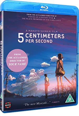 5 Centimeters Per Second cm anime bluray manga Entertainment Takaki Akari Kanae 5 Cover