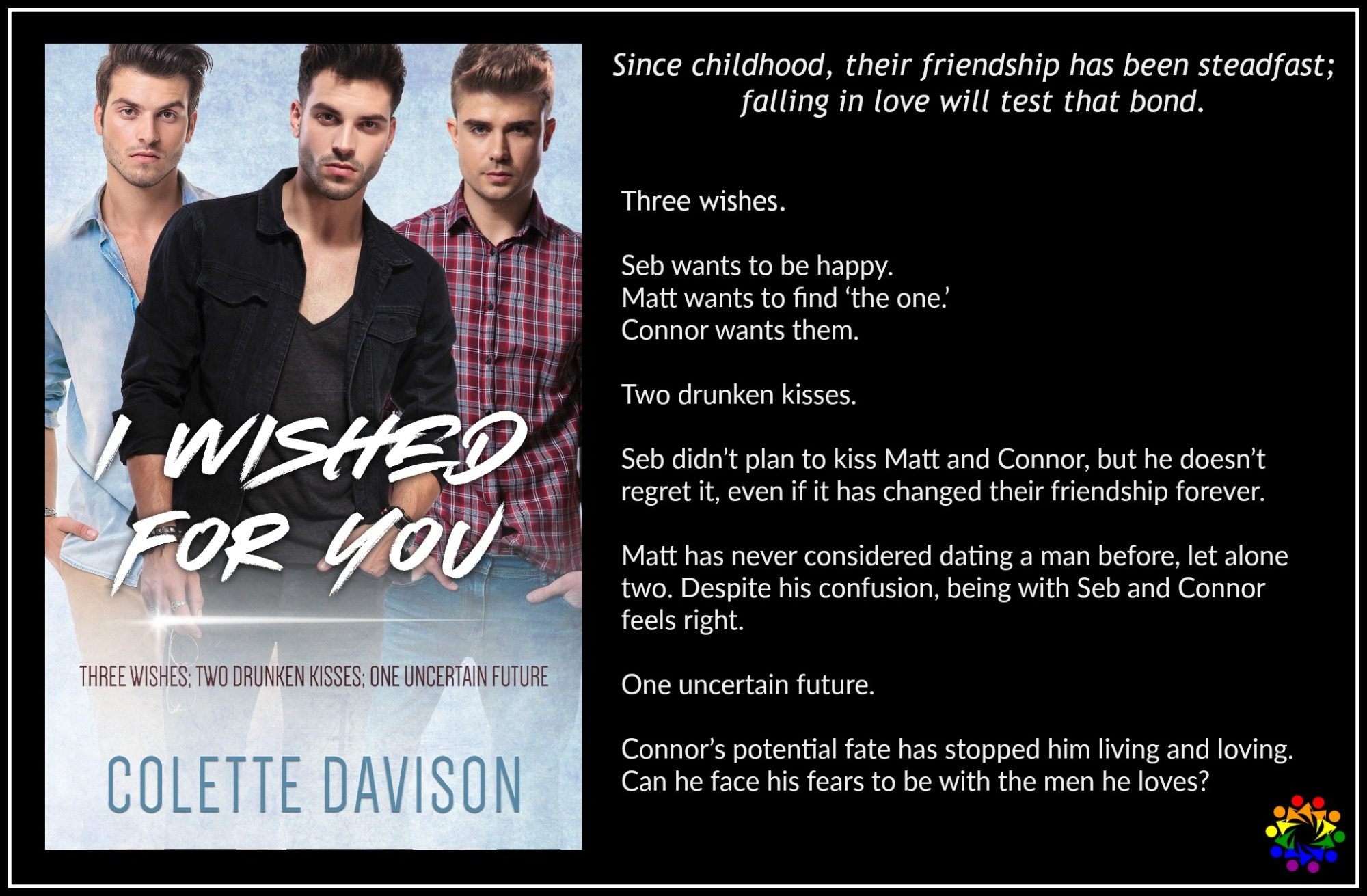 I Wished For You Colette Davison LGBT MM Romance Contemporary
