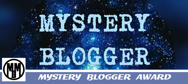 MYSTERY BLOGGER AWARD header