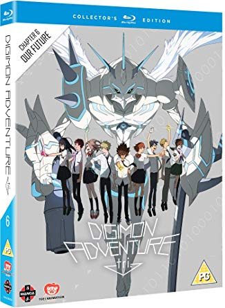 Digimon Adventure Tri 6 Our Future BluRay DVD Cover
