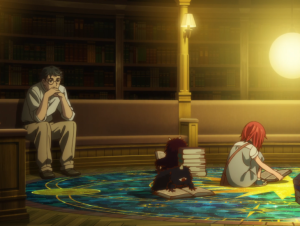 ancient magus bride ova chise wizard library